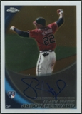 2010 Topps Chrome #174 Jason Heyward Rookie Auto