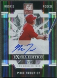 2009 Donruss Elite Extra Edition #57 Mike Trout Rookie Auto #282/495