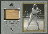 2001 SP Legendary Cuts #DJJ Joe Jackson Debut Game Bat