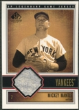 2002 SP Legendary Cuts #JMMA Mickey Mantle Game Jersey SP