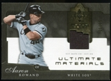 2005 Upper Deck Ultimate Collection Materials #AR Aaron Rowand Jersey /25