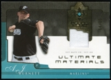 2005 Upper Deck Ultimate Collection Materials #BU A.J. Burnett Jersey /25