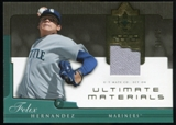 2005 Upper Deck Ultimate Collection Materials #FH Felix Hernandez Jersey /25