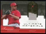 2005 Upper Deck Ultimate Collection Materials #FR Francisco Rodriguez Jersey /25