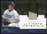 2005 Upper Deck Ultimate Collection Materials #JP Jake Peavy Jersey /25