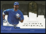 2005 Upper Deck Ultimate Collection Materials #LE Derrek Lee Jersey /25