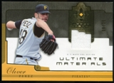 2005 Upper Deck Ultimate Collection Materials #OP Oliver Perez Jersey /25