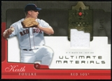 2005 Upper Deck Ultimate Collection Materials #KF Keith Foulke Jersey /25