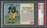 1962 Post Cereal #14 Fuzzy Thurston PSA (Authentic) *1582