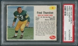 1962 Post Cereal #14 Fuzzy Thurston PSA (Authentic) *1583