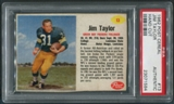 1962 Post Cereal #13 Jim Taylor PSA (Authentic) *1584