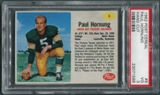 1962 Post Cereal #6 Paul Hornung PSA 3 (VG) *1588