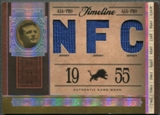2006 Playoff National Treasures #DW Doak Walker Timeline Material NFC Jersey #19/25