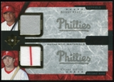 2005 Upper Deck Ultimate Collection Dual Materials #AU Bobby Abreu/Chase Utley Jersey /15