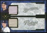 2005 Upper Deck Ultimate Collection Dual Materials #BJ Ben Sheets/Jake Peavy Jersey /15