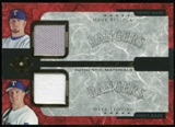 2005 Upper Deck Ultimate Collection Dual Materials #BT Hank Blalock/Mark Teixeira Jersey /15