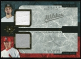 2005 Upper Deck Ultimate Collection Dual Materials #CR Eric Chavez/Scott Rolen Jersey /15