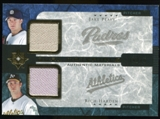 2005 Upper Deck Ultimate Collection Dual Materials #PH Jake Peavy/Rich Harden Jersey /15
