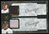2005 Upper Deck Ultimate Collection Dual Materials #RP Aaron Rowand/Scott Podsednik Jersey /15