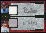 2005 Upper Deck Ultimate Collection Dual Materials #SB Mike Schmidt/Wade Boggs Jersey /15