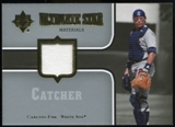 2007 Upper Deck Ultimate Collection Ultimate Star Materials #CF Carlton Fisk