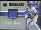 2007 Upper Deck Ultimate Collection Ultimate Star Materials #DL Derrek Lee