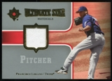 2007 Upper Deck Ultimate Collection Ultimate Star Materials #FL Francisco Liriano