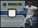 2007 Upper Deck Ultimate Collection Ultimate Star Materials #FT Frank Thomas