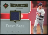 2007 Upper Deck Ultimate Collection Ultimate Star Materials #JU Justin Morneau