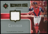 2007 Upper Deck Ultimate Collection Ultimate Star Materials #VM Victor Martinez