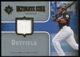 2007 Upper Deck Ultimate Collection Ultimate Star Materials #VW Vernon Wells