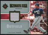 2007 Upper Deck Ultimate Collection Ultimate Star Materials #CL2 Carlos Lee