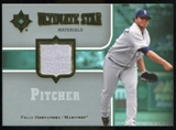 2007 Upper Deck Ultimate Collection Ultimate Star Materials #FH2 Felix Hernandez