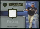 2007 Upper Deck Ultimate Collection Ultimate Star Materials #PE2 Jake Peavy