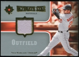 2007 Upper Deck Ultimate Collection Ultimate Star Materials #NM Nick Markakis
