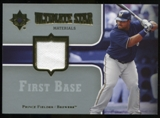 2007 Upper Deck Ultimate Collection Ultimate Star Materials #PF Prince Fielder