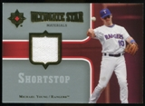 2007 Upper Deck Ultimate Collection Ultimate Star Materials #MY2 Michael Young