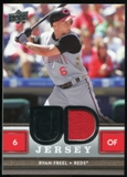 2008 Upper Deck UD Game Materials #RF Ryan Freel S2
