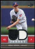 2008 Upper Deck UD Game Materials #SO Jeremy Sowers S2