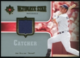2007 Upper Deck Ultimate Collection Ultimate Star Materials #JM Joe Mauer