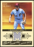 2009 Upper Deck Goodwin Champions Memorabilia #MS Mike Schmidt