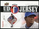 2010 Upper Deck UD Game Patch #PM Pedro Martinez 9/25
