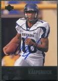 2011 Upper Deck College Legends #84 Colin Kaepernick Rookie Auto