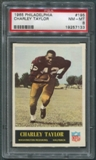1965 Philadelphia Football #195 Charley Taylor Rookie PSA 8 (NM-MT) *7133