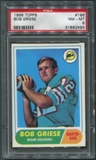 1968 Topps Football #196 Bob Griese Rookie PSA 8 (NM-MT) *2499