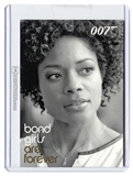 2014 Rittenhouse James Bond Archives Case Exclusives #BG74 Bond Girls Are Forever Miss Moneypenny