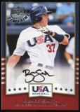 2008 Upper Deck Timeline Team USA Signatures #BS Blake Smith Autograph