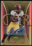 2007 Upper Deck Artifacts Rookie Autographs #122 Gary Russell Autograph /25
