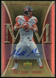 2007 Upper Deck Artifacts Rookie Autographs #134 Matt Moore Autograph /30