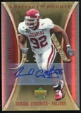 2007 Upper Deck Artifacts Rookie Autographs #174 Jamaal Anderson Autograph /30
